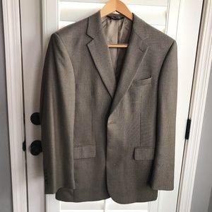 Jos A Bank, Sports Coat Jacket 100% Wool Sz 40R